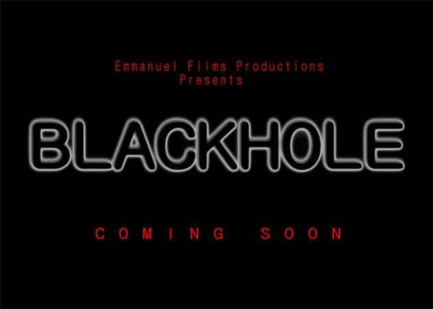 Black Hole Poster