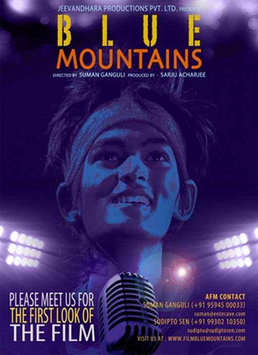 Blue Mountains Wallpaper Poster