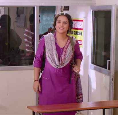 Bobby Jasoos Vidya Balan In Purple Dress Stills