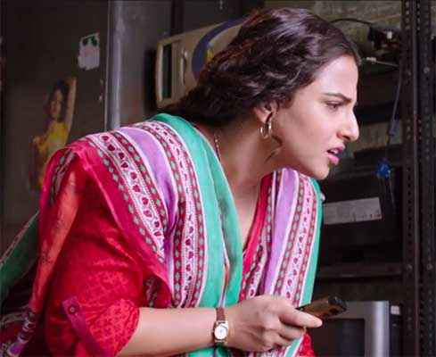 Bobby Jasoos Vidya Balan With Tea Cup Stills