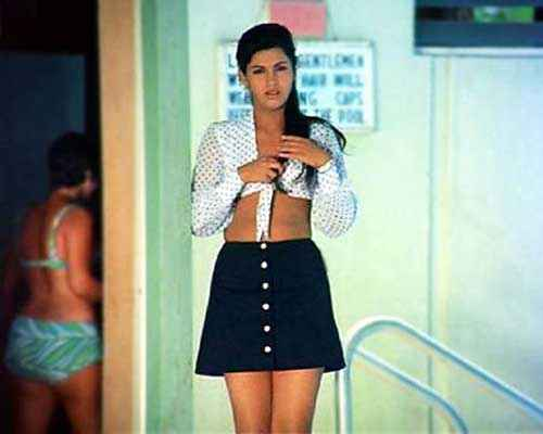 Bobby Dimple Kapadia Sexy Pic in White Skirt Stills
