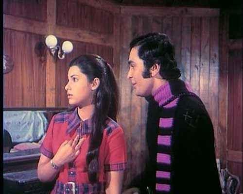 Bobby Rishi Kapoor Dimple Kapadia Stills