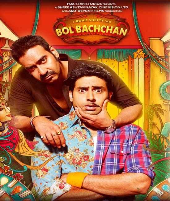 Bol Bachchan Ajay Devgan Abhishek Bachchan Poster