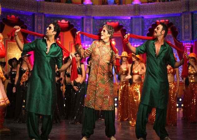 Bol Bachchan Amitabh Bachchan Dance Stills