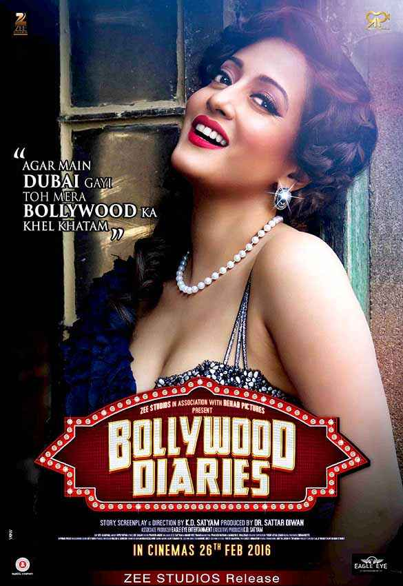 Bollywood Diaries Raima Sen Poster