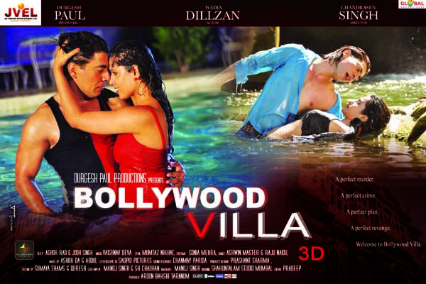 Bollywood Villa Sexy Poster