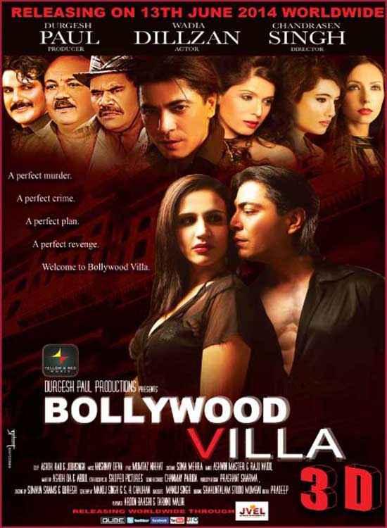 Bollywood Villa Wallpaper Poster