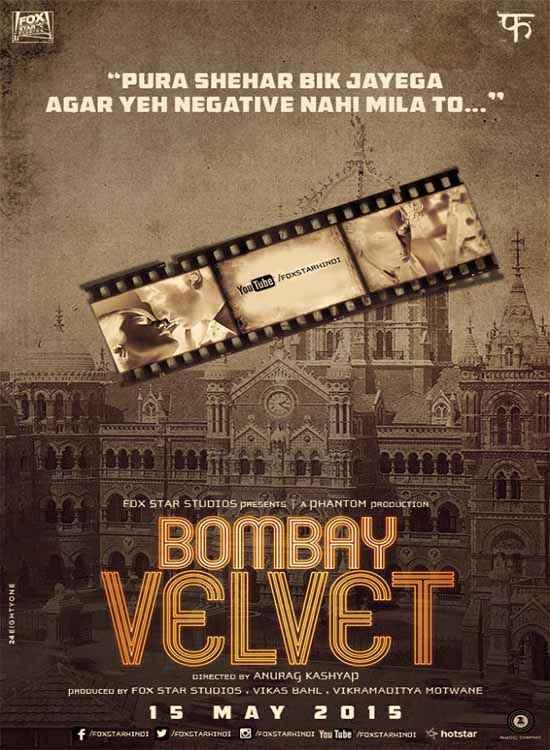 Bombay Velvet Image Poster