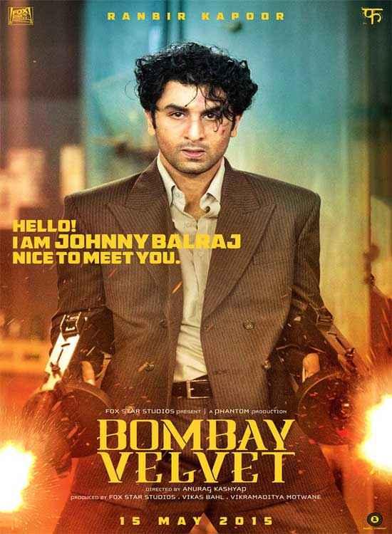 Bombay Velvet Ranbir Kapoor Poster