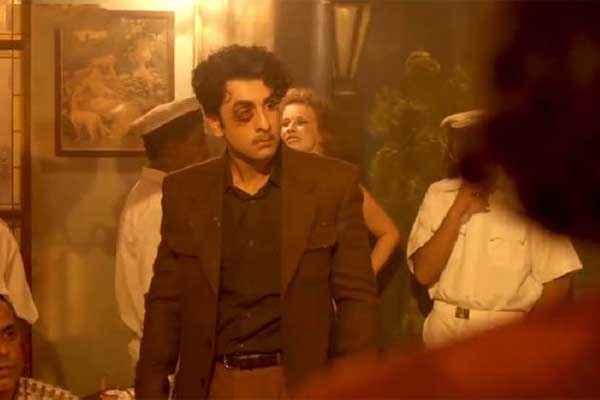 Bombay Velvet Ranbir Kapoor Eyes Swaling Stills