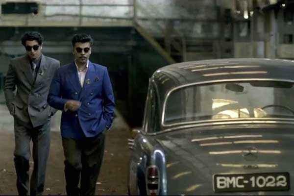 Bombay Velvet Ranbir Kapoor Karan Johar New Look Stills