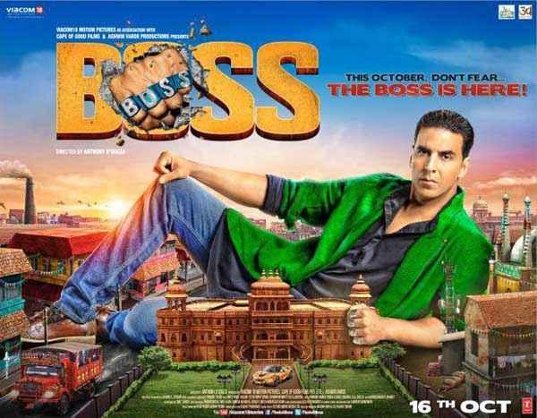 Boss Akshay Kumar Poster