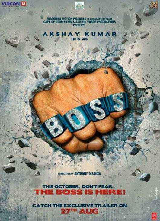 Boss First Look Wallpaper Poster