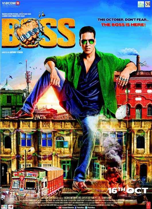 Boss New Poster