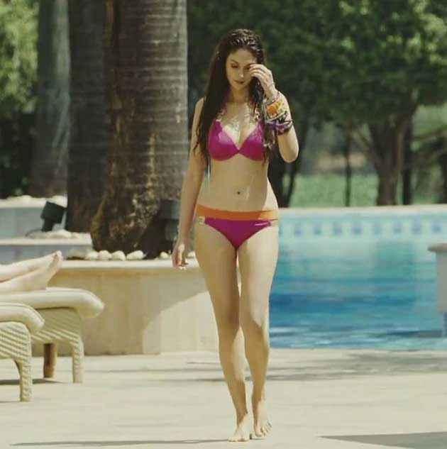 Boss Aditi Rao Hydari Bikini Pics Stills