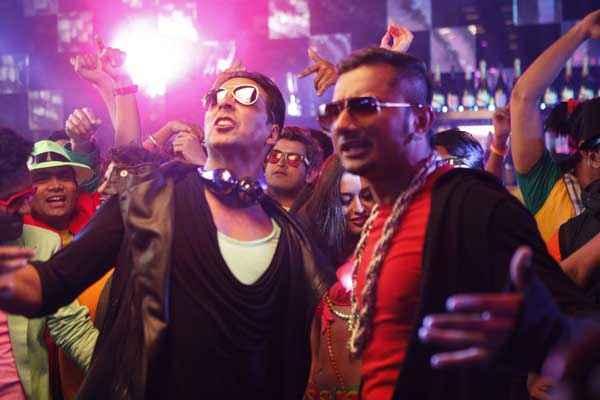 Boss Akshay Kumar Honey Singh Stills