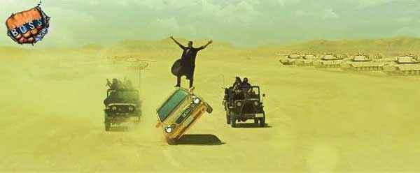 Boss Akshay Kumar with Car Stills