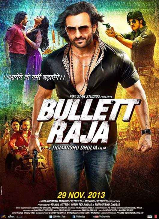 Bullett Raja Saif Ali Khan Wallpaper Poster