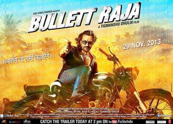 Bullett Raja  Poster