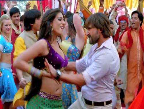 Bullett Raja Mahie Gill in Item Number Stills