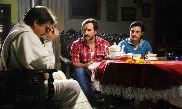 Bullett Raja Raj Babbar Saif Ali Khan Jimmy Sheirgill Discussing Stills