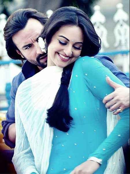 Bullett Raja Saif Ali Khan Sonakshi Sinha Romantic Scene Stills