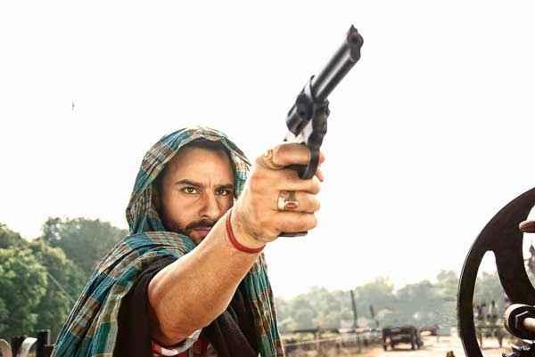 Bullett Raja Saif Ali Khan with Gun Stills