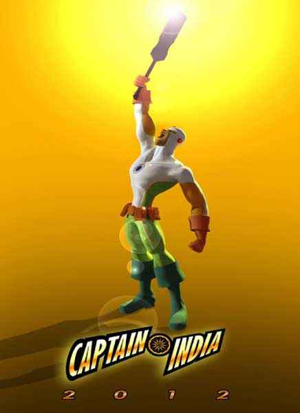 Captain India Wallpaper Poster