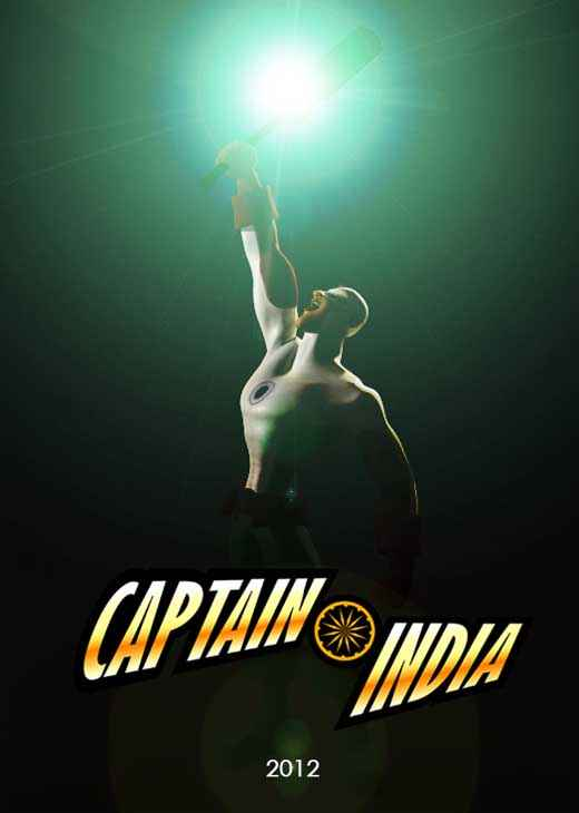 Captain India Poster