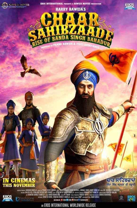 Chaar Sahibzaade - Rise of Banda Singh Bahadur  Poster