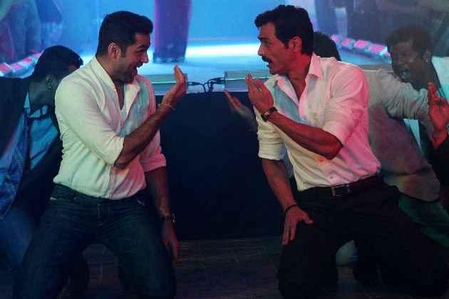 Chakravyuh Abhay Deol Arjun Rampal In Dance Scene Stills