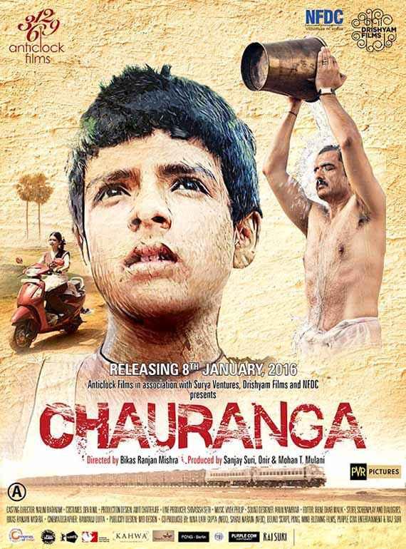Chauranga Sanjay Suri Poster