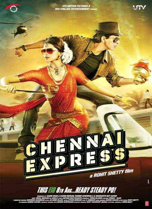 Chennai Express First Look Wallpaper Poster