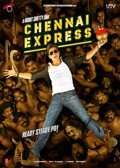 Chennai Express Shahrukh Khan Poster