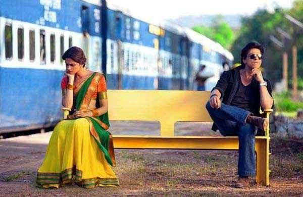 Chennai Express Shahrukh Khan Deepika Padukone Stills