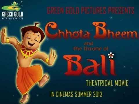 Chhota Bheem And The Throne Of Bali  Poster