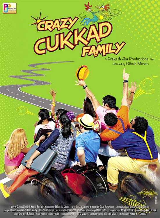 Crazy Cukkad Family Image Poster