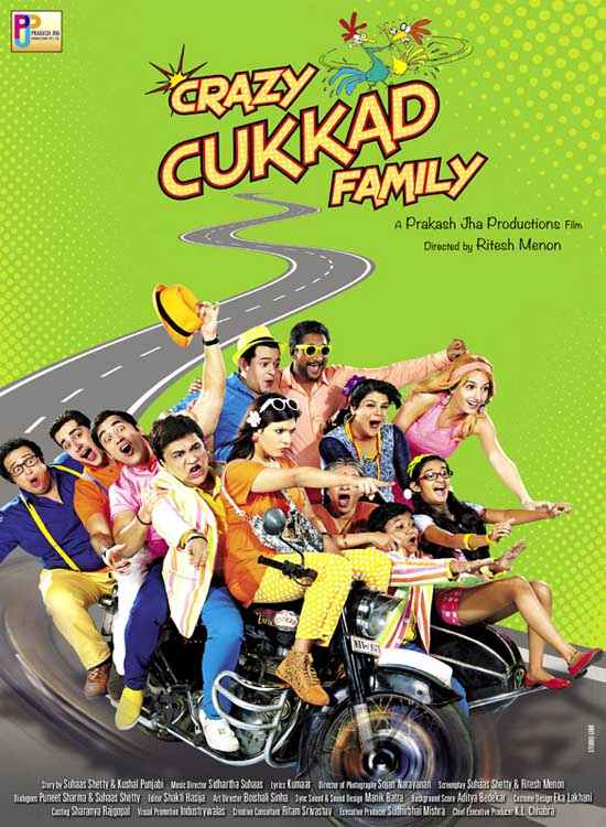 Crazy Cukkad Family Poster