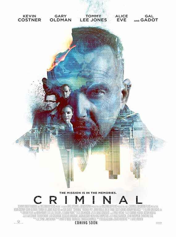 Criminal 2016 (English)  Poster
