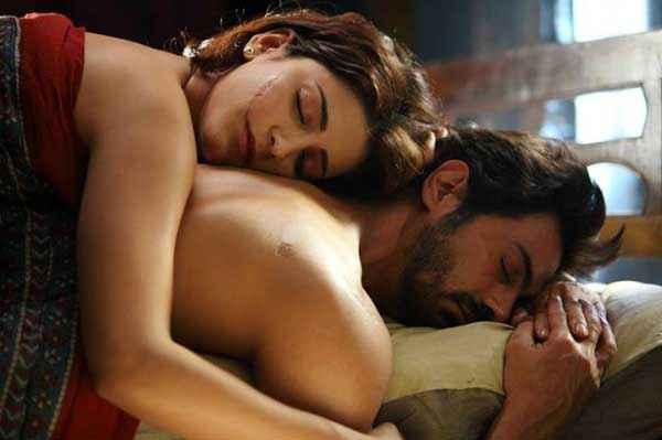 D Day Arjun Rampal Shruti Haasan Hot Bed Scene Stills