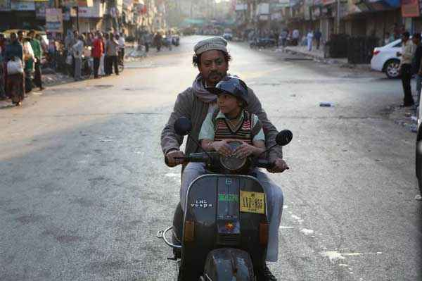 D Day Irrfan Khan On Scooter Stills
