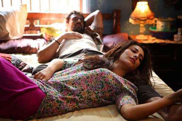 D Day Romantic Bed Scene Stills