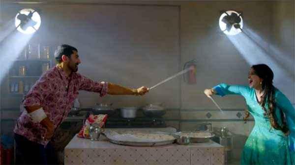 Daawat E Ishq Parineeti Chopra Aditya Roy Kapur Funning Scene Stills