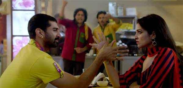 Daawat E Ishq Parineeti Chopra Aditya Roy Kapur Playing Panja Stills