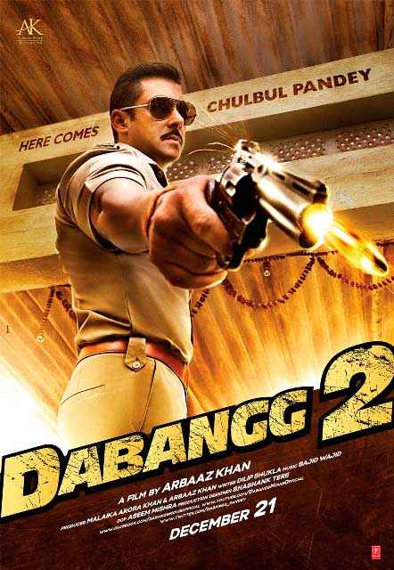Dabangg 2 Wallpaper Poster