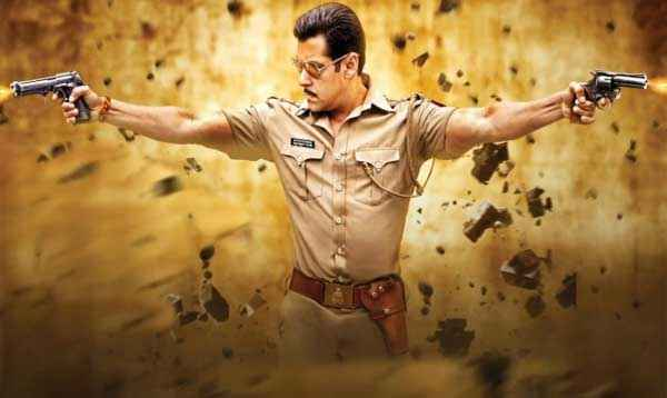 Dabangg 2 Salman Khan in Action Scene Stills