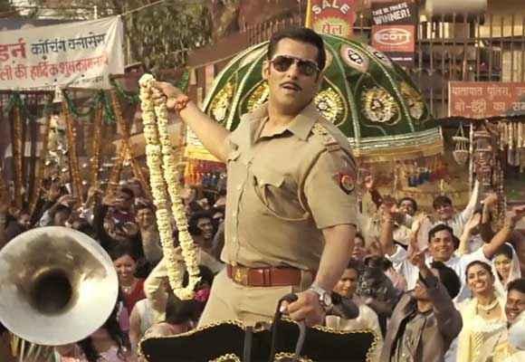 Dabangg 2 Salman Khan in Dance Scene Stills