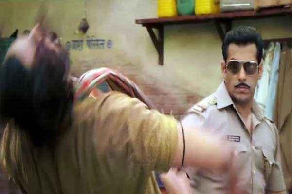Dabangg 2 Salman Khan in Fighting Stills