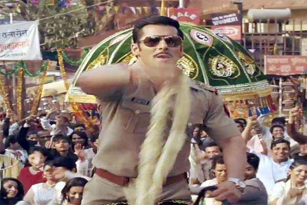Dabangg 2 Salman Khan in Song Scene Stills