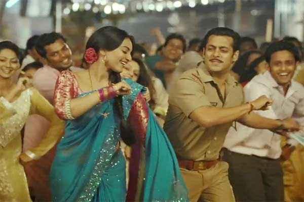 Dabangg 2 Salman Khan Sonakshi Sinha In Dance Scene Stills